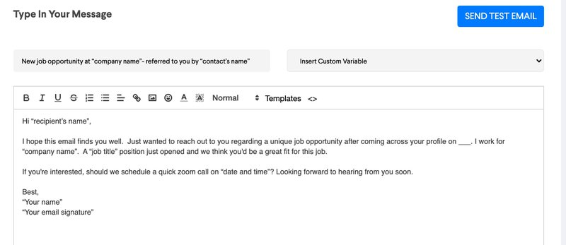 HR Email 1