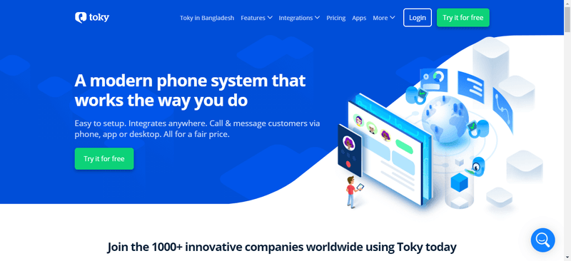 toky homepage